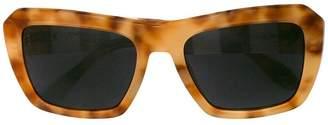 Carolina Herrera oversized frame sunglasses
