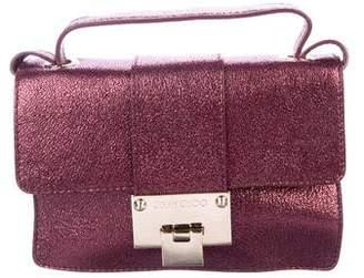 Jimmy Choo Glitter Flap Crossbody Bag