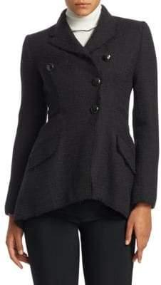 Proenza Schouler Asymmetrical Tweed Blazer