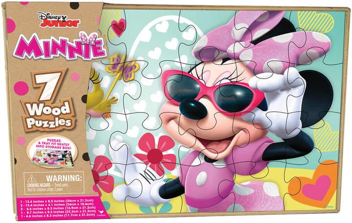 Disney Minnie Set of 7 Wood Puzzles