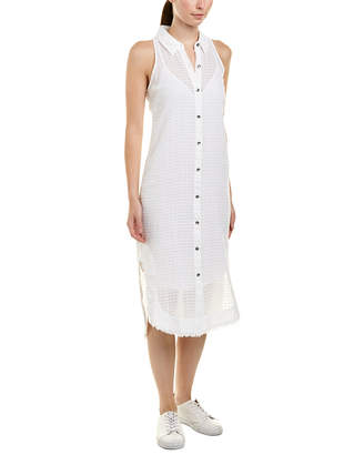 Splendid Gauze Shirtdress