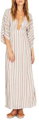 Amuse Society Forever & Day Stripe Maxi Dress
