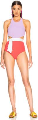 Flagpole Lynn Swimsuit with Sash