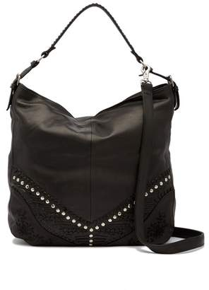 DAY Birger et Mikkelsen & Mood Oak Leather Detail Hobo Bag
