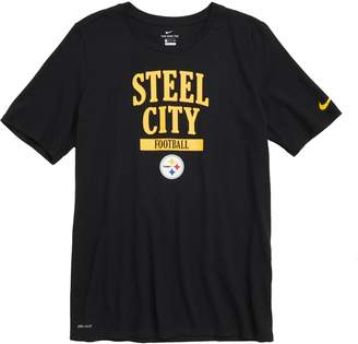 Nike Dry Hyperlocal NFL Pittsburgh Steelers T-Shirt