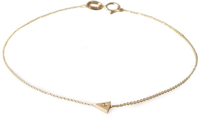 Mociun mini triangle bracelet