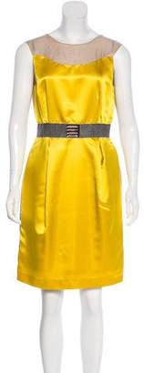 Valentino Colorblock Sheath Dress