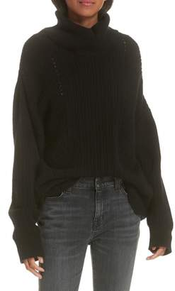 Nili Lotan Keirnan Cashmere Turtleneck Sweater