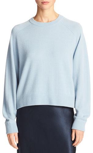 Vince Cashmere Raglan Crewneck Sweater
