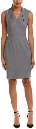 Reiss Austin Wool Sheath Dress