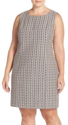 Tart 'Dinah' Print Sleeveless Sheath Dress