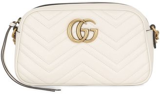 Small Gg Marmont 2.0 Leather Bag $1,200 thestylecure.com