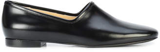 Lemaire round toe slip-on pumps