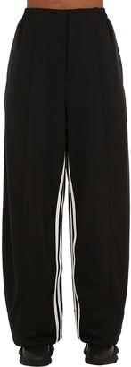 Y-3 Y 3 3-Stripes Wide Leg Techno Pants
