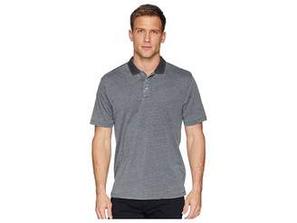 True Grit Bowery Burnouts Vintage Washed Short Sleeve Polo