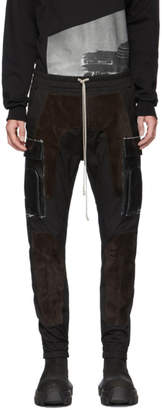Rick Owens Black Jogger Cargo Pants