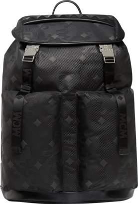 MCM Dieter Backpack In Lion Camo Nylon