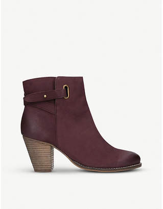 Carvela Smart leather ankle boots