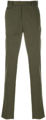 Fendi fitted tailored trousers