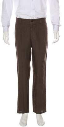 Brunello Cucinelli Linen Pleated Pants