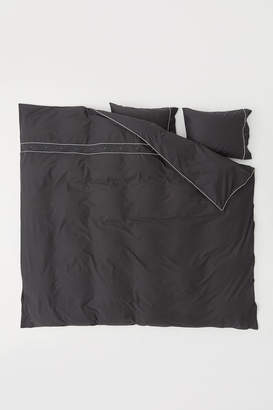 H&M Duvet cover set with buttons