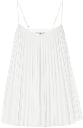 Tibi Pleated crepe top