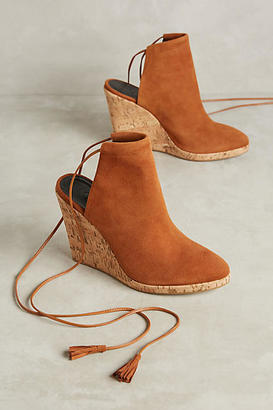M4D3 Madrid Shootie Wedges $148 thestylecure.com