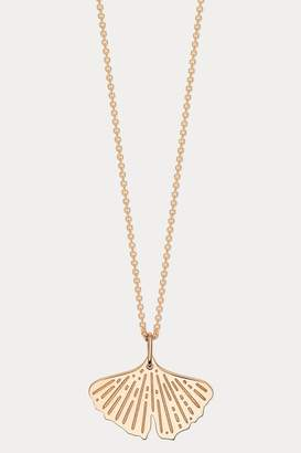 ginette_ny Mini Gingko necklace