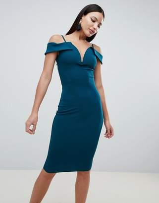 AX Paris Deep V Pencil Dress