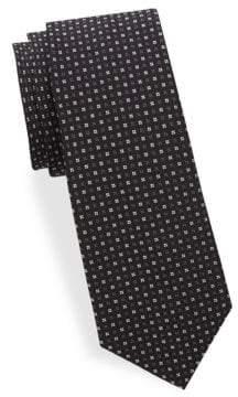 Saks Fifth Avenue Basket-Weave Silk Tie