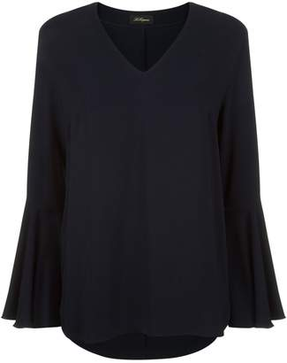 Les Copains Flared Sleeve Blouse