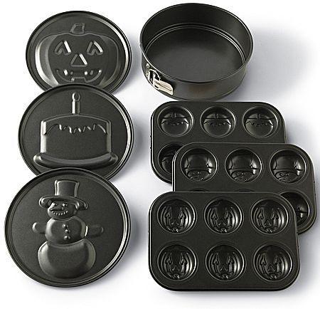 JCPenney cooks 8-pc. Cast Baking Pans
