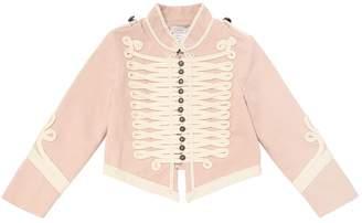 Stella McCartney Stretch Organic Cotton Gabardine Jacket