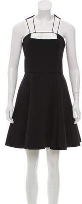 Cushnie et Ochs Sleeveless Flared Dress