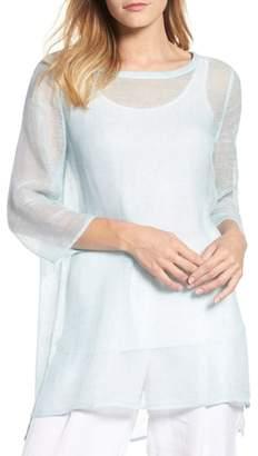 Eileen Fisher Organic Linen Blend Tunic