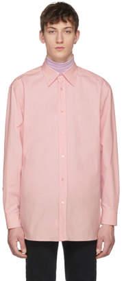 Raf Simons Pink Oversized Joy Division Substance Shirt