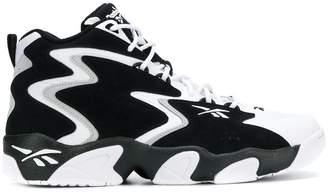 Reebok zig zag hi-top sneakers