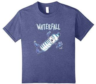Waterfall Pun Humor- Awesome Funny Graphic T-Shirt Gift