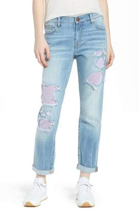 True Religion Brand Jeans Cameron Slim Boyfriend Jeans