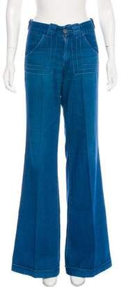 Adriano Goldschmied High-Rise Wide-Leg Jeans