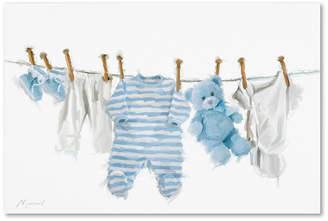 "Trademark Global The Macneil Studio 'Baby Boy' Canvas Art, 16x24"""