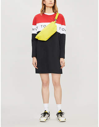 Tommy Jeans Colour block cotton-jersey T-shirt dress
