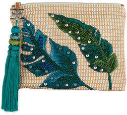 Sam Edelman Sheila Embroidered Clutch Bag