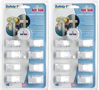 Safety 1st Tot-Lok 9 Piece Loc Assembly