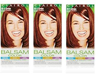 Clairol Balsam Hair Color 1 Kit (Pack of 3)