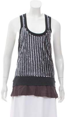 Sacai Embellished Sleeveless Top w/ Tags