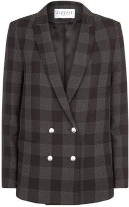 Claudie Pierlot Checked Blazer