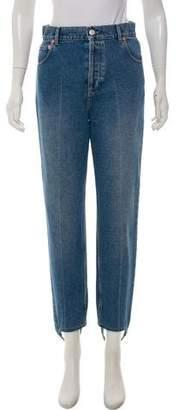 Balenciaga High-Rise Stirrup Jeans