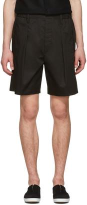 Lemaire Black Boxer Shorts $375 thestylecure.com