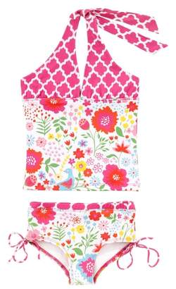 Masala Baby English Garden Two-Piece Tankini Swimsuit